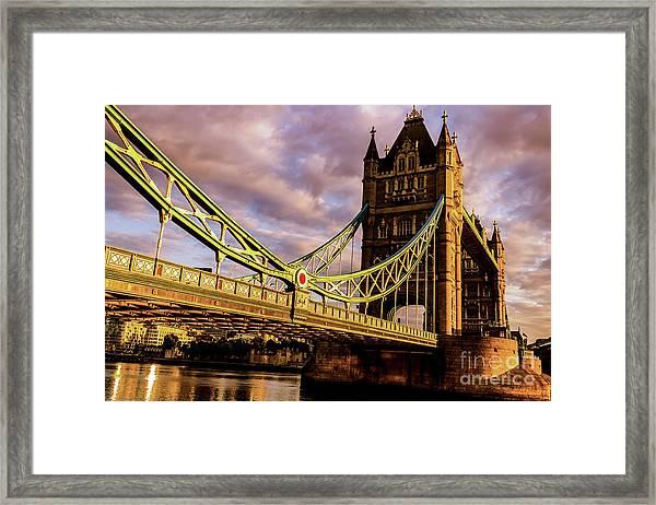 London Tower Bridge. Framed Print