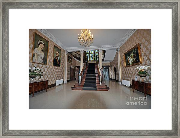 Lyrath Estate Hotel Framed Print