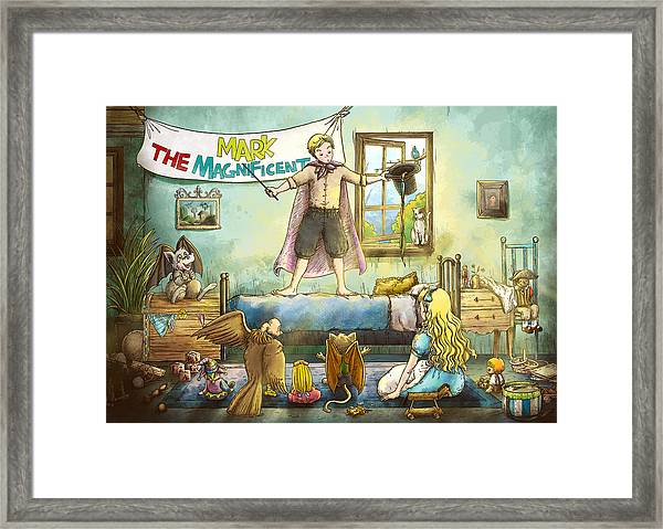 Mark The Magnificent Framed Print
