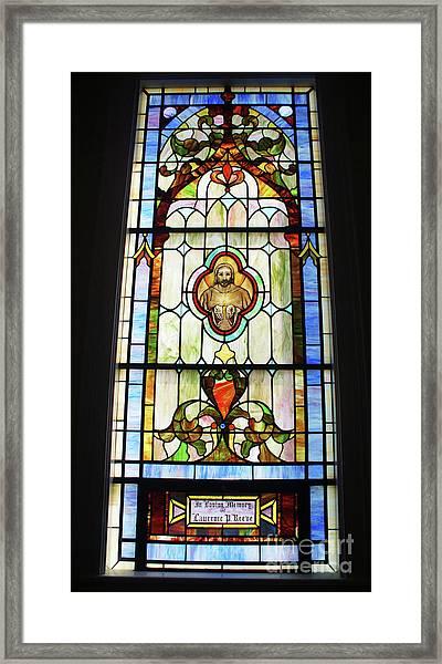Mattituck Presbyterian Church Framed Print