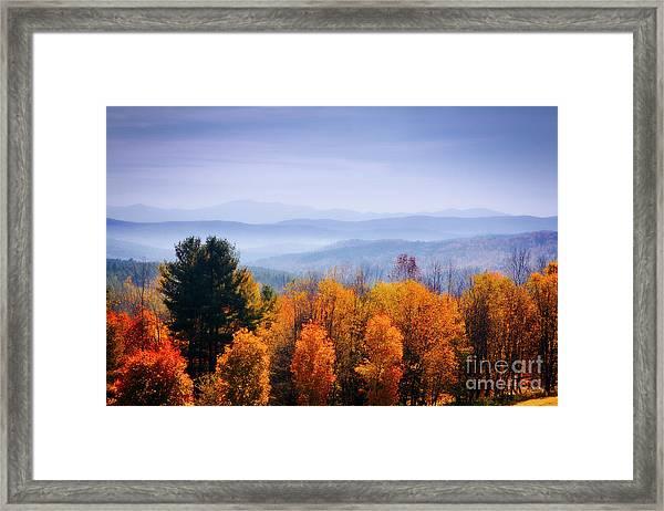 Morning Fog Framed Print by Scott Kemper