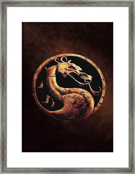 Mortal Kombat 1995  Framed Print