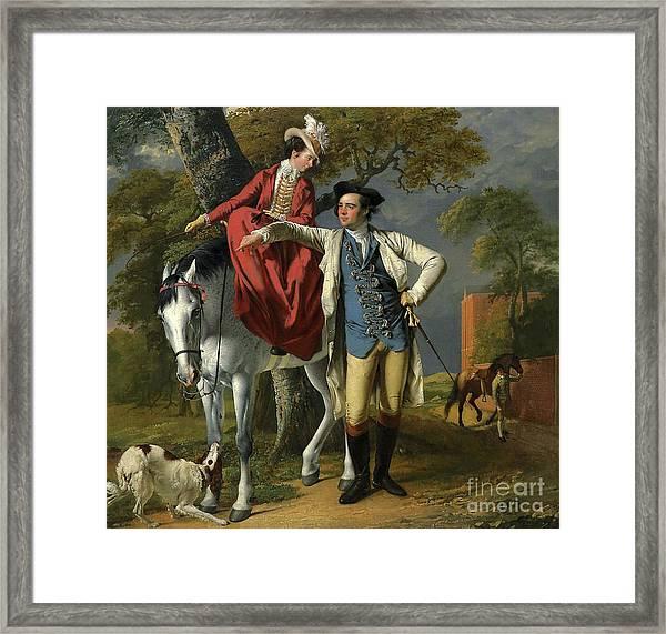 Mr And Mrs Thomas Coltman Framed Print