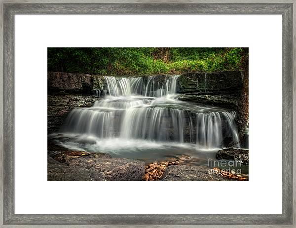 Natural Dam Framed Print