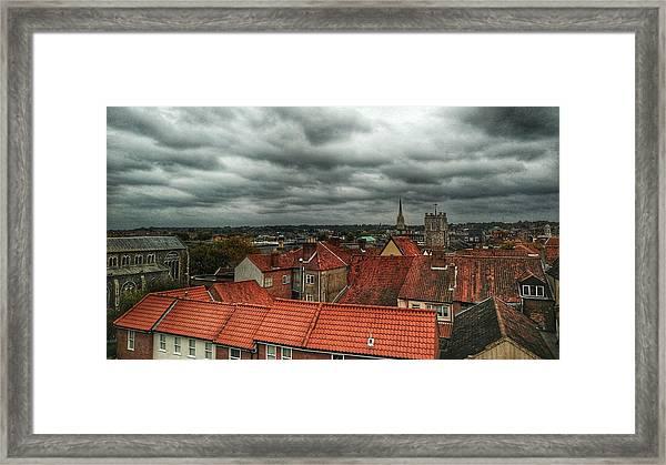 Norwich Framed Print
