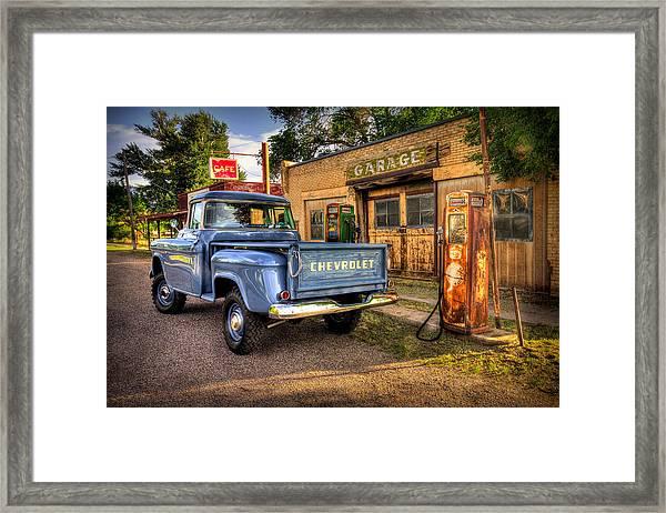 Ol Chevrolet Framed Print