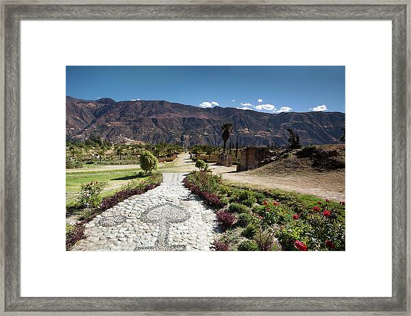 Old Yungay Campo Santo Framed Print
