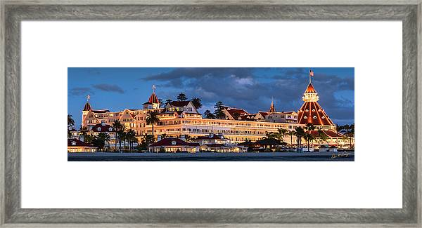 Pure And Simple Pano 60x20 Framed Print