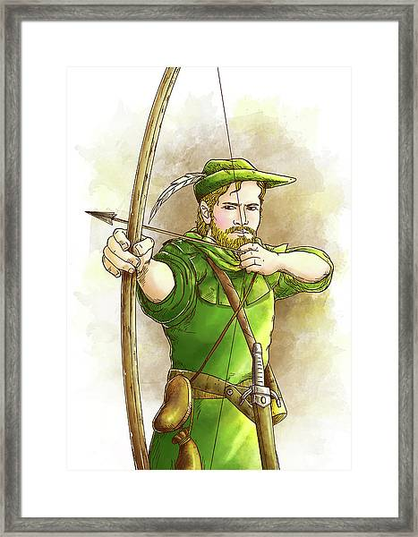 Robin Hood The Legend Framed Print