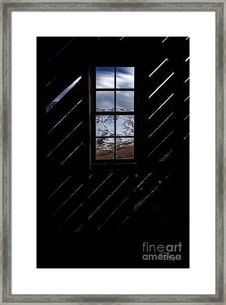 Sound Democrat Mill Framed Print