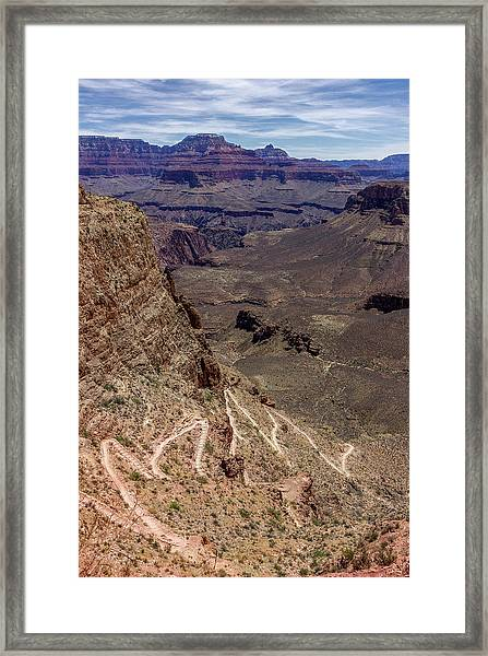 South Kaibab Trail Framed Print