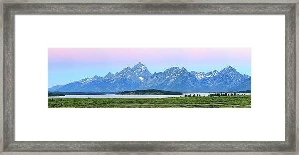 Spotless Sunrise Framed Print