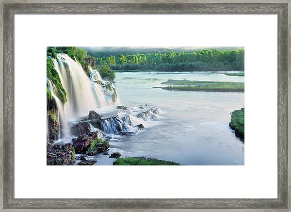 Spring Morning Framed Print