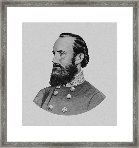 Stonewall Jackson - Six Framed Print