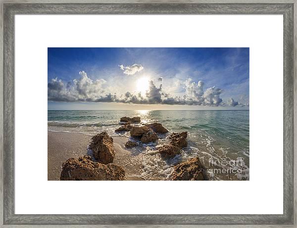 Sunset Naples Fl Framed Print
