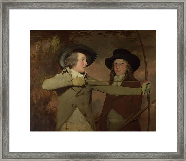 The Archers Framed Print