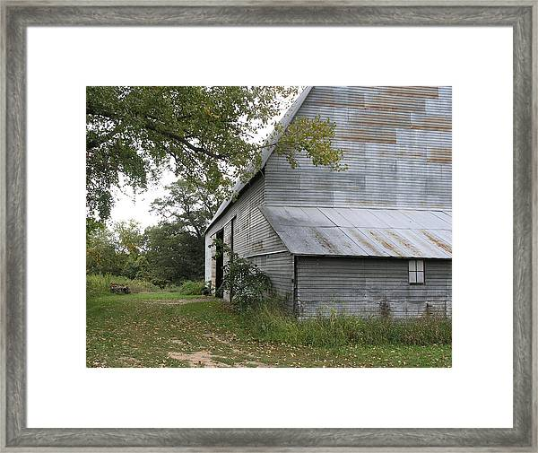 The Old Barn Framed Print by Janis Beauchamp