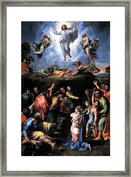 The Transfiguration Framed Print