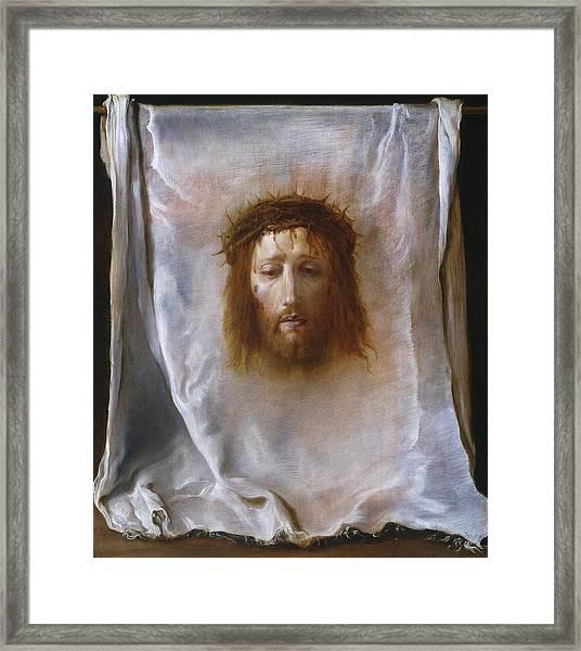 The Veil Of Veronica Framed Print