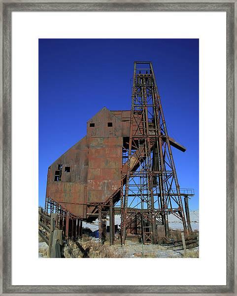 Theresa Mine Framed Print