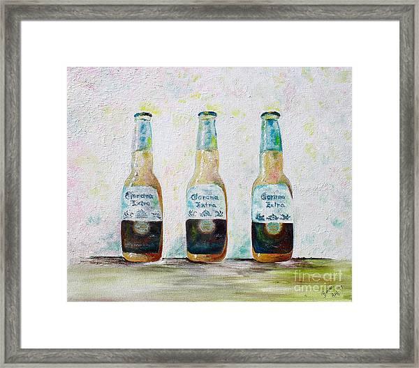 Three Amigos Framed Print
