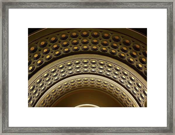 Union Station Dc Framed Print