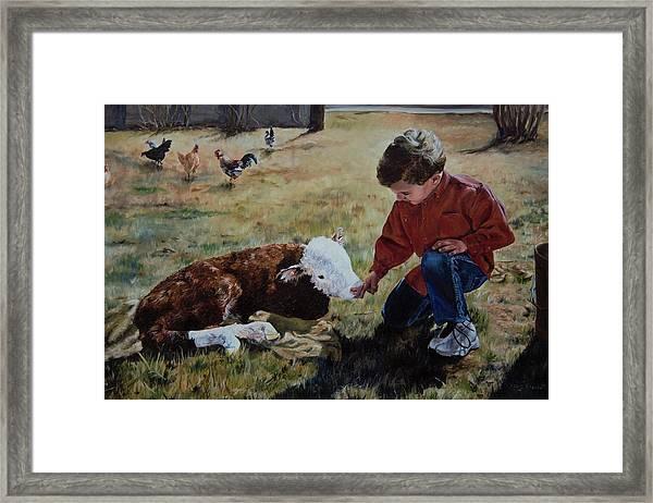 20 Minute Orphan Framed Print