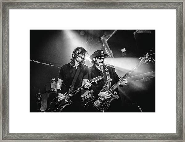 Uk Foo Fighters Live @ O2 Academy Islington Framed Print