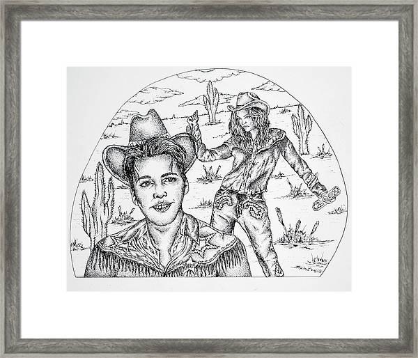2001 Framed Print by Joseph Lawrence Vasile