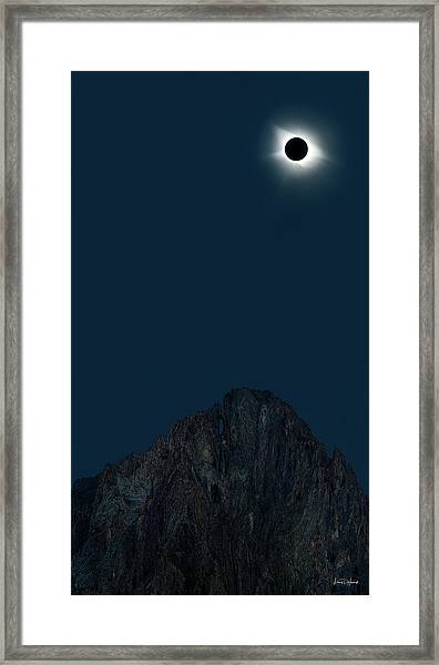 2017 Eclipse Framed Print