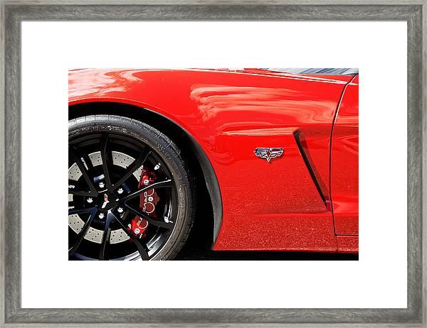 2013 Corvette Framed Print