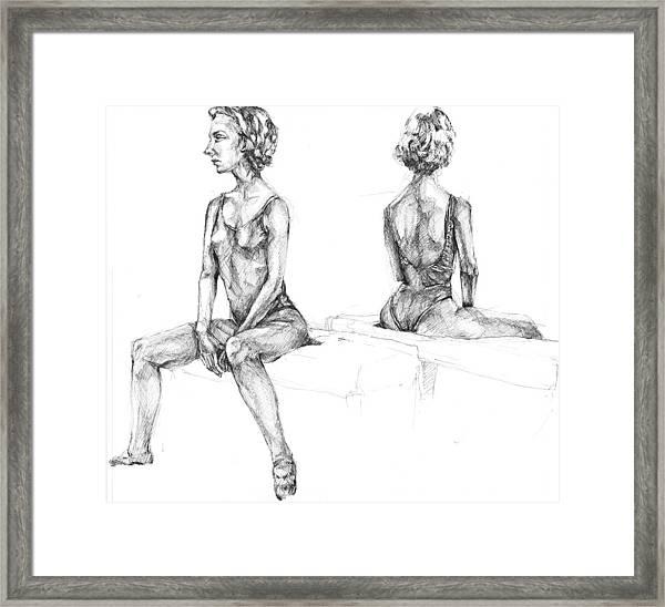 20140121 Framed Print