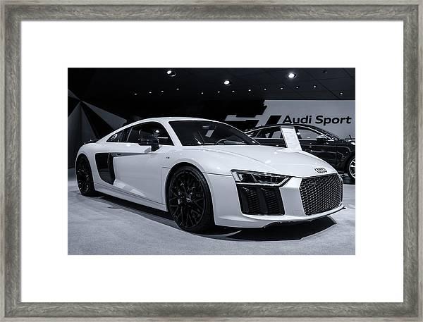 2017 Audi R8 Framed Print