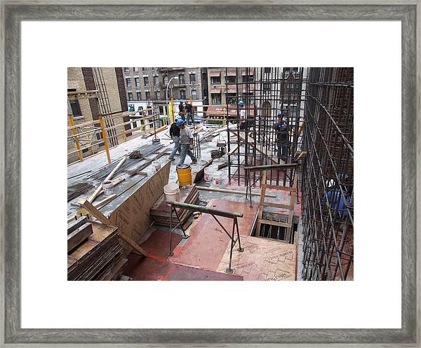 208 W 96th C1 Framed Print