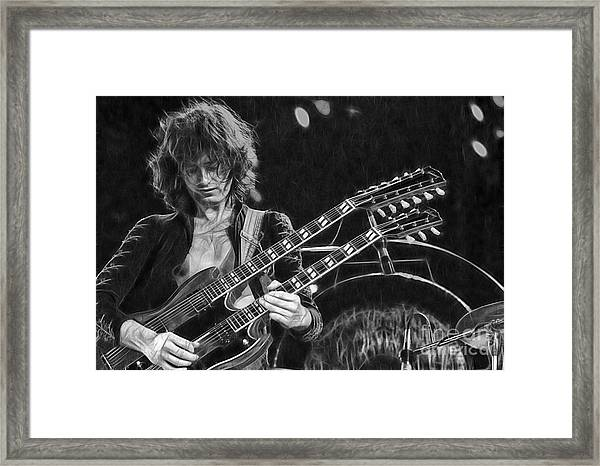 Jimmy Page Collection Framed Print