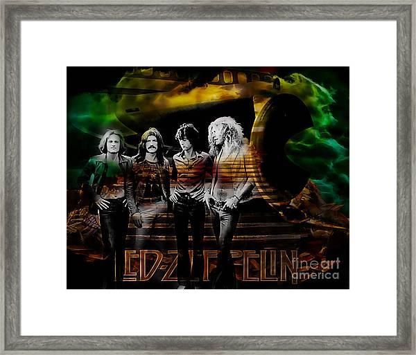 Led Zeppelin Collection Framed Print