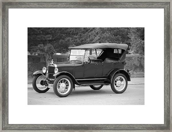'27 T Touring Framed Print by Jon Rossiter