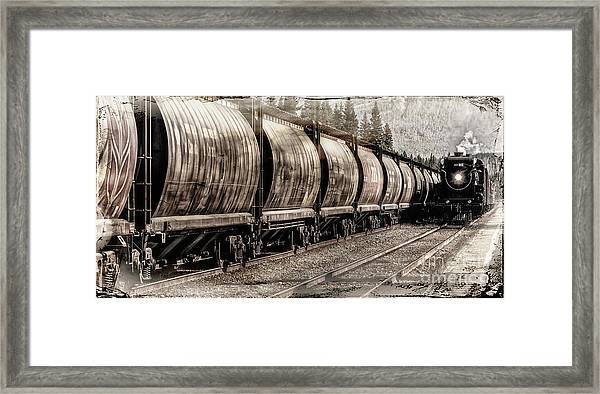 2816 Empress Passing Grain Framed Print