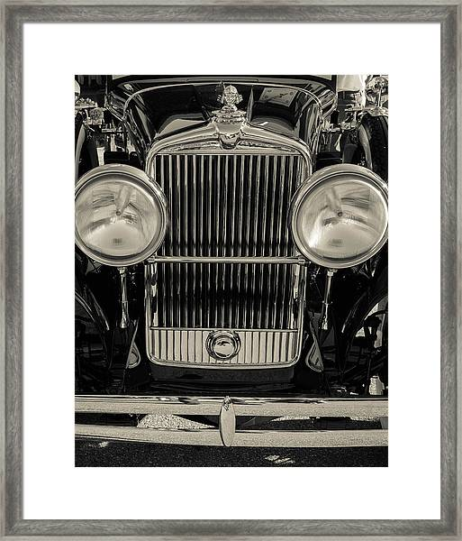 Framed Print featuring the photograph '29 Stutz by Samuel M Purvis III