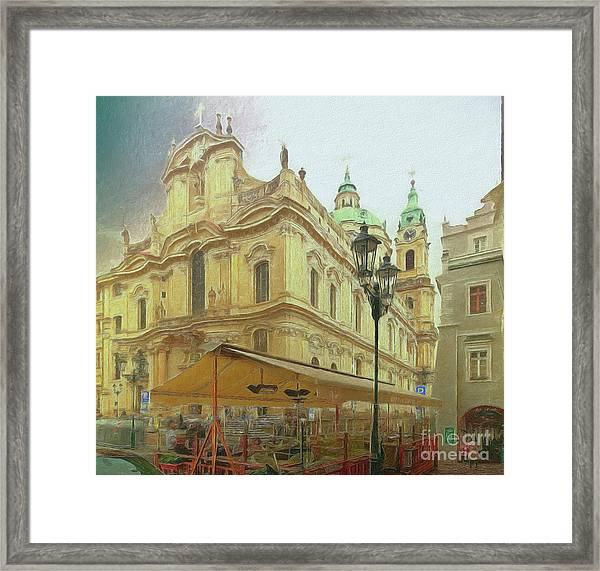 2nd Work Of St. Nicholas Church - Old Town Prague Framed Print