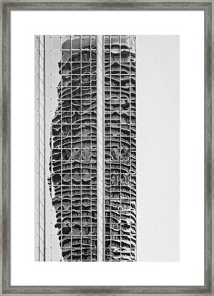 Abstract Architecture - Mississauga Framed Print