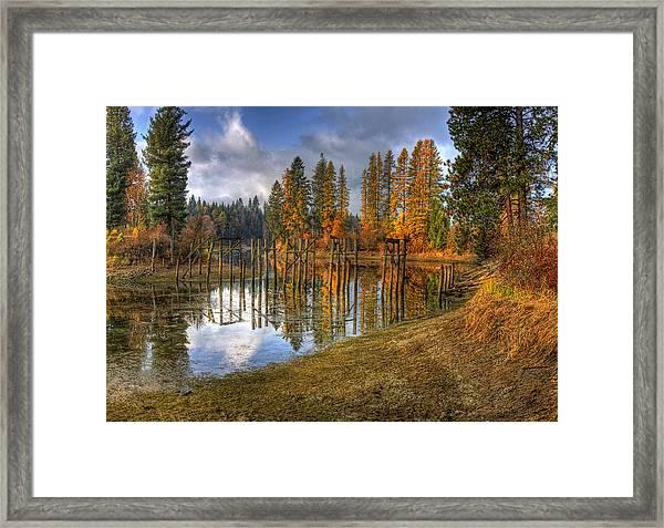 Cocolala Creek Slough Framed Print