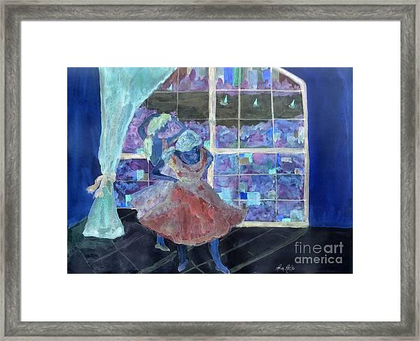 Dansarinas Framed Print