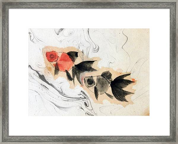 Floating 12030005 2fy Framed Print