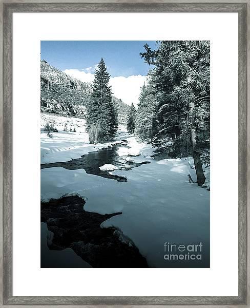 Gore Creek Framed Print