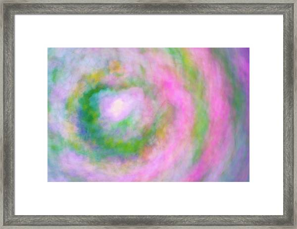 Framed Print featuring the photograph Impression Series - Floral Galaxies by Ranjay Mitra