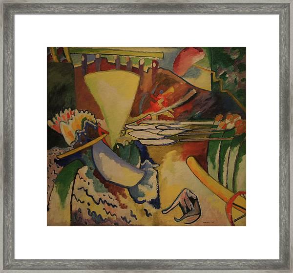 Improvisation Framed Print by Wassily Kandinsky