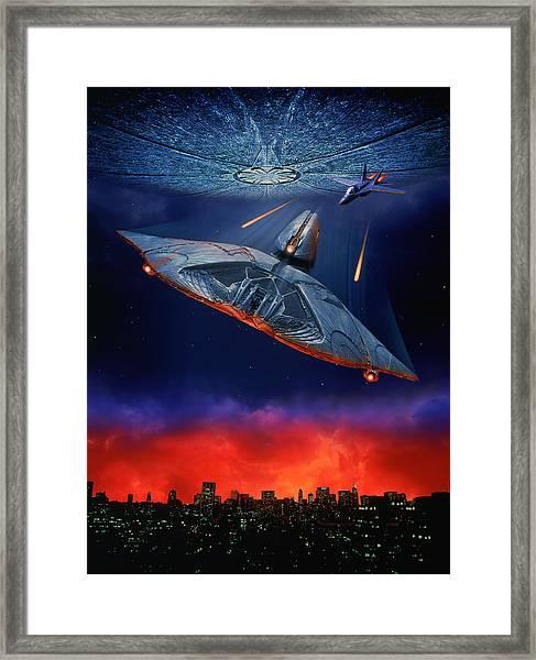 Independence Day 1996  Framed Print