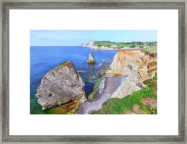 Isle Of Wight - England Framed Print