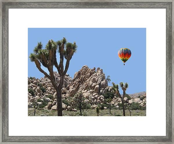 Joshua Landing Framed Print